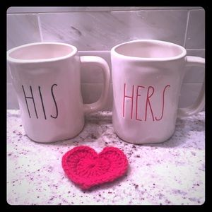 New Rae Dunn coffee mugs